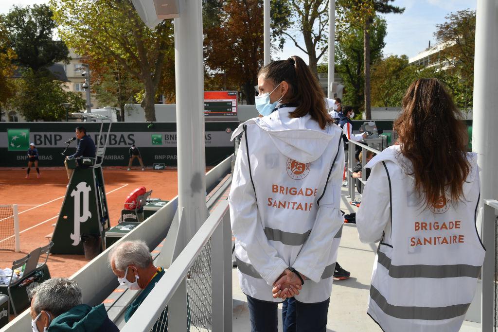 Roland Garros reduciría aforo otra vez por rebrote de coronavirus en Francia