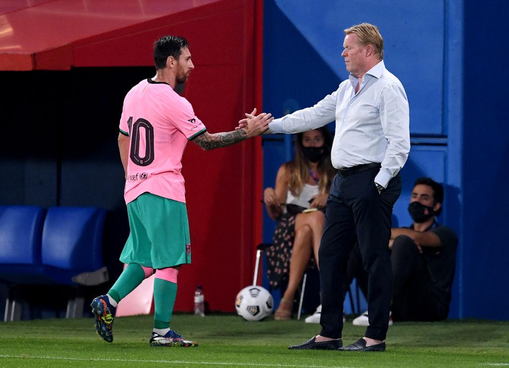 """Jémez sobre la situación de Messi y Barcelona: """"Koeman tiene un muerto importante"""""""