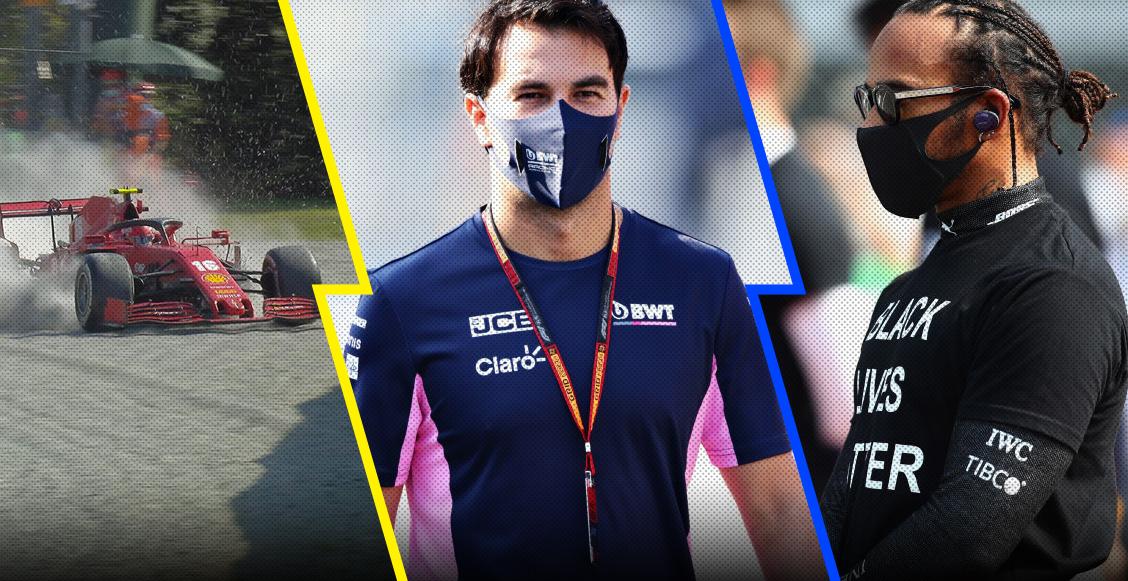 La pesadilla de Ferrari, el lugar de 'Checo' Pérez y sorprendieron a Hamilton: Lo que nos dejó el Gran Premio de Italia
