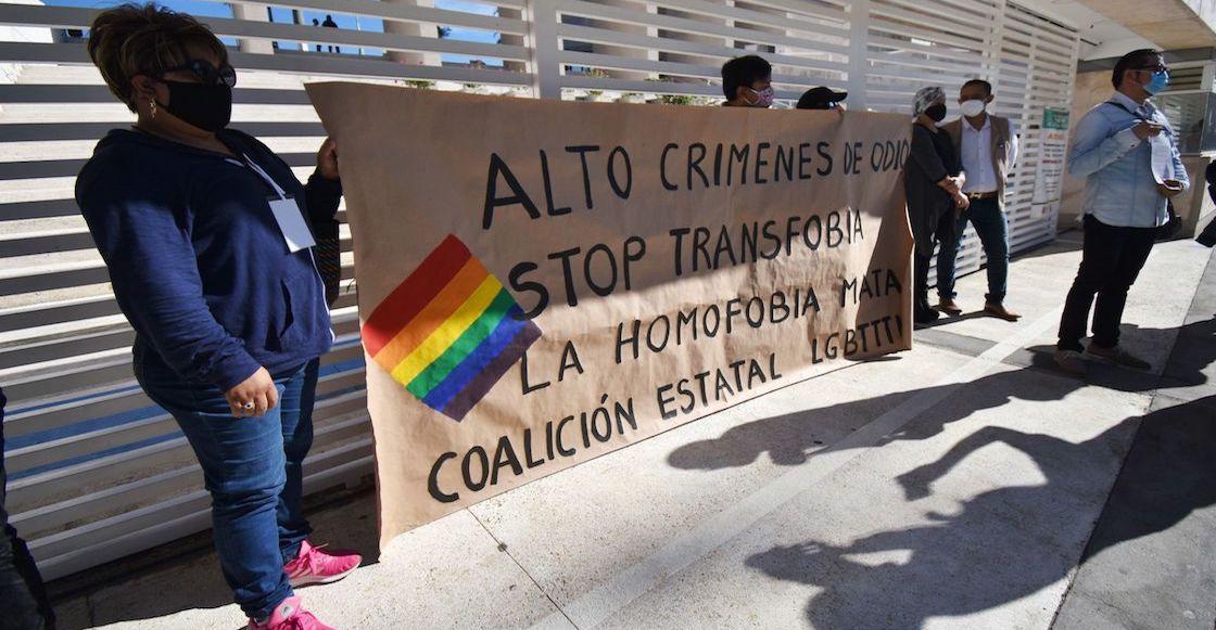 protesta-huelga-de-hambre-crimenes-contra-comunidad-lgbti