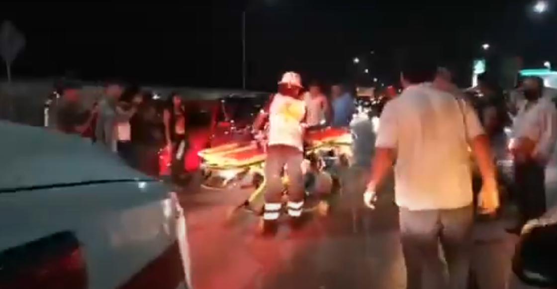 Atropellan a un reportero en plena transmisión en vivo mientras cubría un accidente