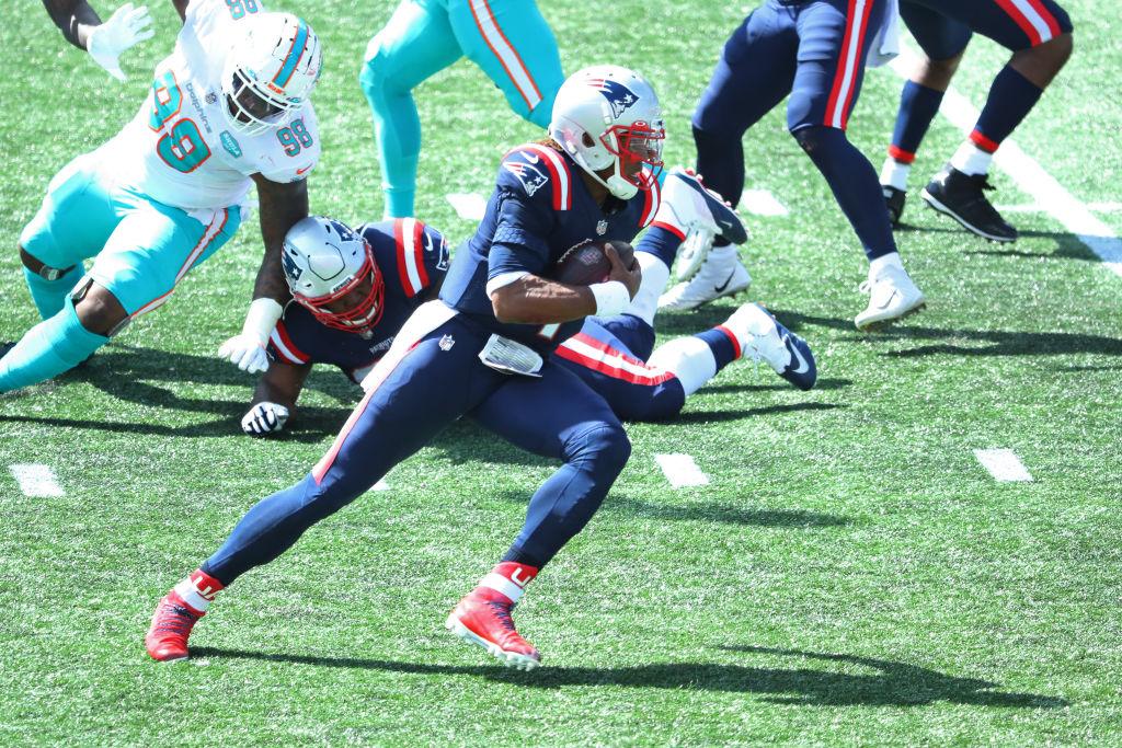 Comenzó la era post Brady: Cam Newton logró touchdown y guió a la victoria a los Patriots