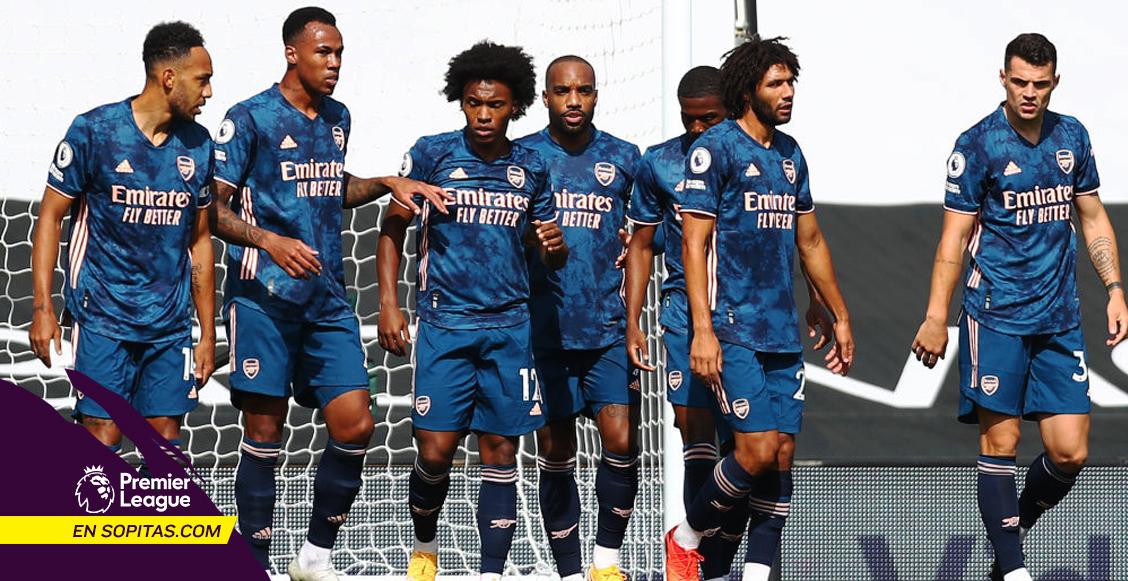 El show de Willian en su primer partido oficial con el Arsenal