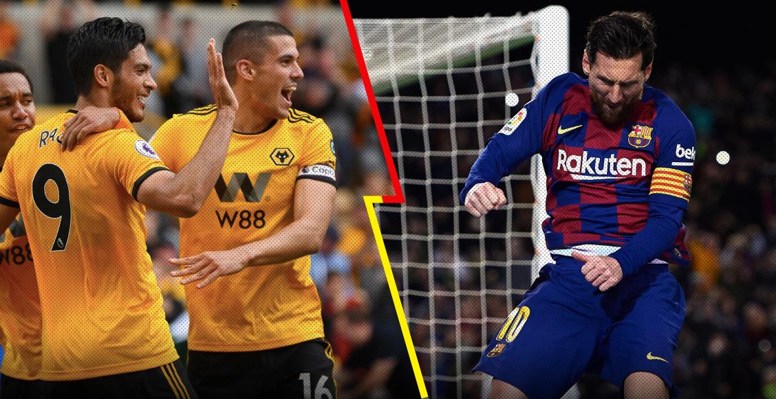 Compañero de Raúl Jiménez 'entraría en pánico' si tiene que enfrentar a Messi en la Premier League