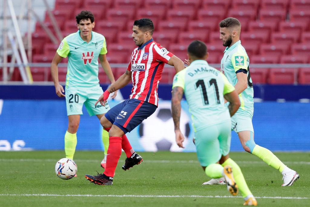 Día soñado: Luis Suárez debutó con doblete en la victoria del Atlético de Madrid