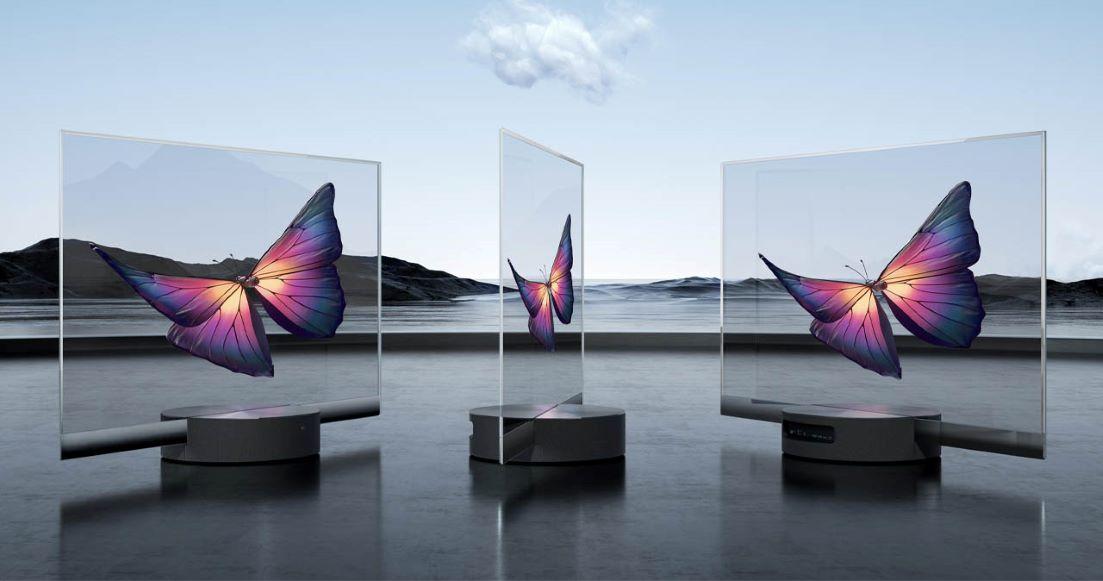 Xiami lanzó el primer televisor transparente en el mundo