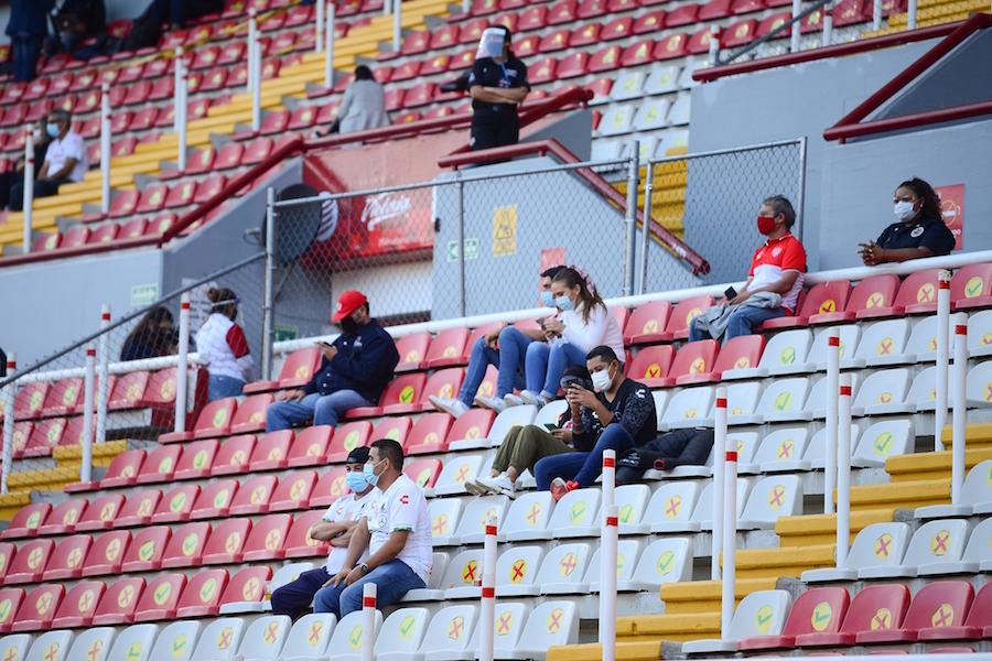 Así fue el regreso y el primer gol con aficionados en el estadio del Necaxa