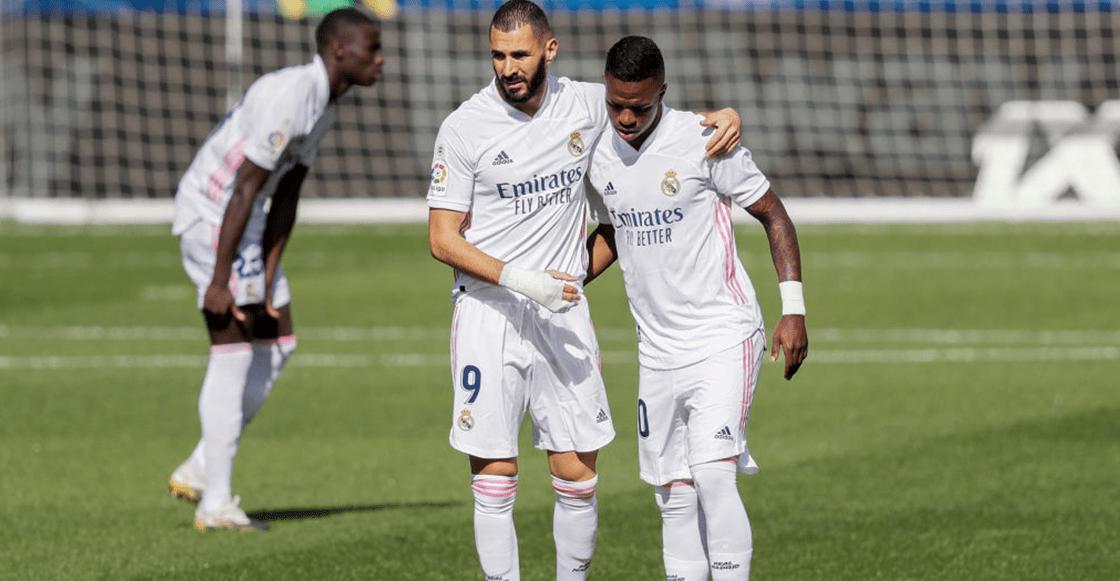 """""""Juega contra nosotros"""": Benzema pidió a sus compañeros no pasarle el balón a Vinícius"""