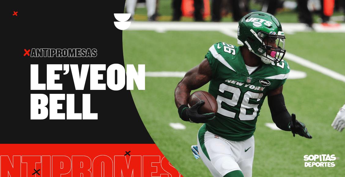 Hoy en las Antipromesas: Le'Veon Bell, el corredor estelar de los Jets que nunca llegó a Nueva York