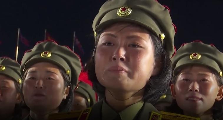Kim Jong un discurso lagrimas 1