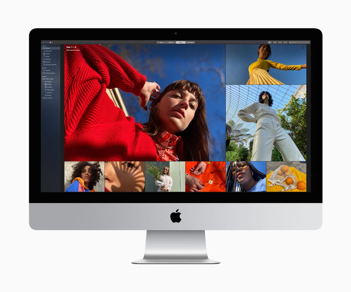 La pantalla de la nueva iMac ofrece resolución 5K