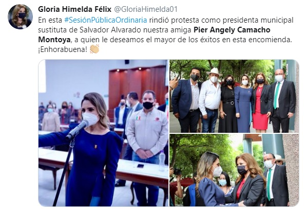 alcaldesa Salvador alvarado sinaloa 1