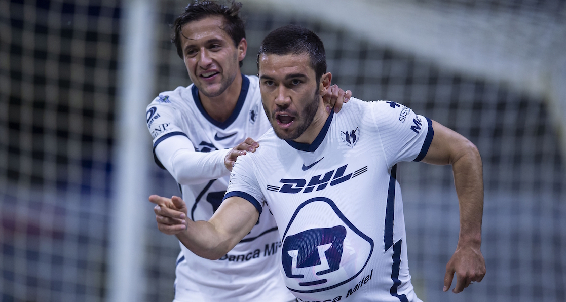 Here are the goals of the triumph of Pumas in the capital classic against America