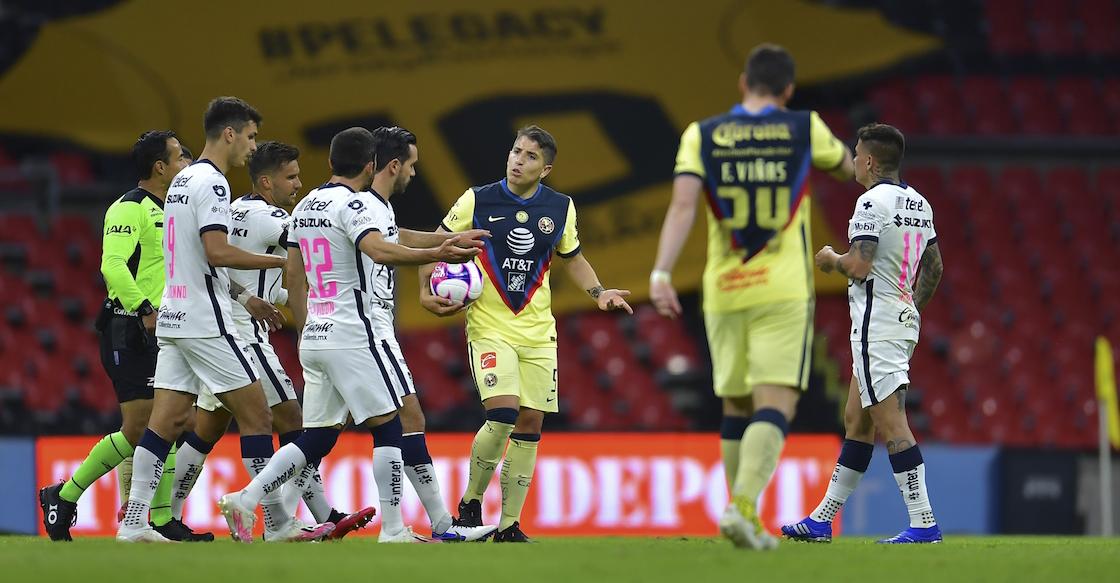 Aquí están los goles del triunfo de Pumas en el clásico joven contra América