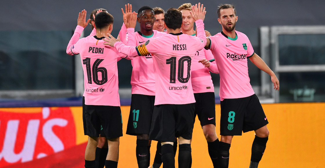 Barcelona inicia la era post-Bartomeu con una cátedra a la Juventus