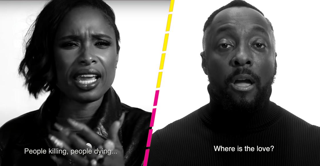 """Black Eyed Peas y Jennifer Hudson lanzan una nueva versión de """"Where Is The Love?"""""""