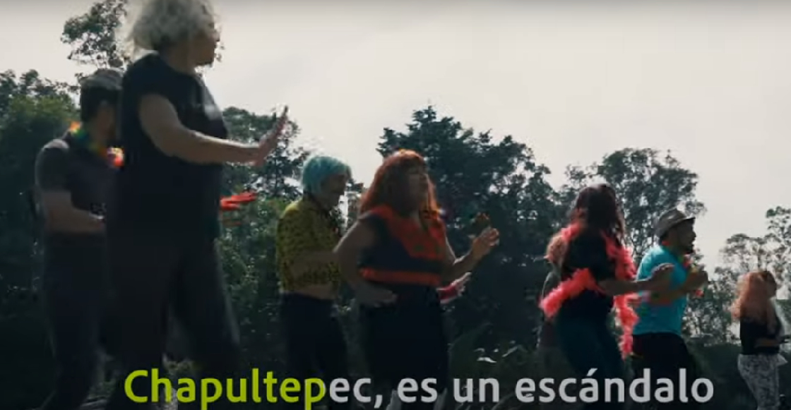 Artistas arman cumbia para protestar contra el proyecto cultural en Chapultepec