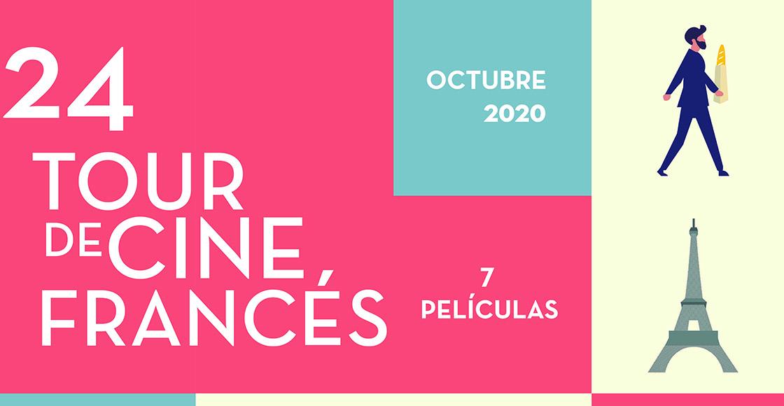 Checa todos los detalles del Tour de Cine Francés 2020