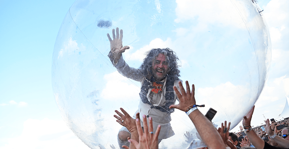 The Flaming Lips bubble gigs are now a reality!