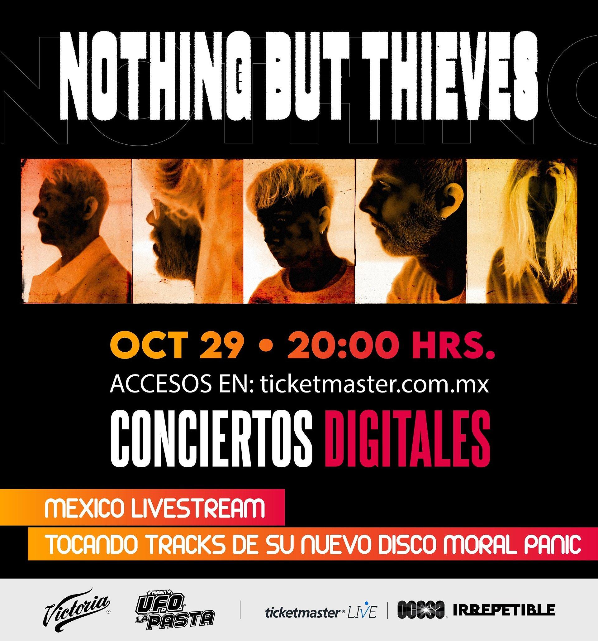 A Todo Volumen: Checa la agenda de conciertos en línea del 29 de octubre al 1 de noviembre