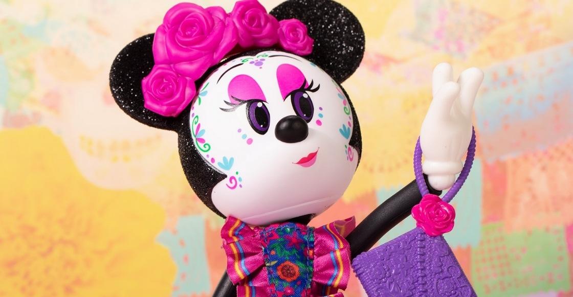 ¡Disney le entra al Día de Muertos con una figura de Minnie Mouse catrina!