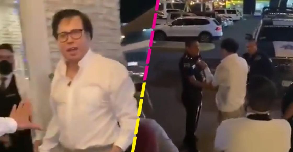 Exdelegado de SRE vuelve a armar escándalo en restaurante de Sonora