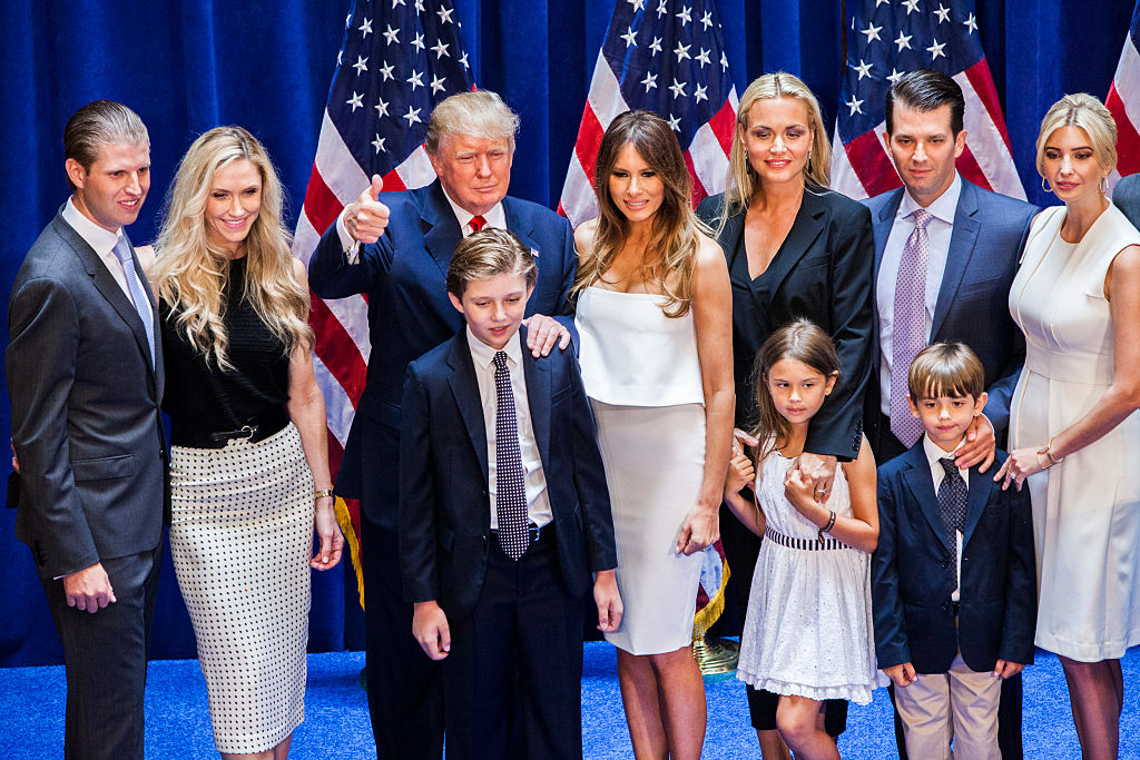 familia-donald-trump-estados-unidos