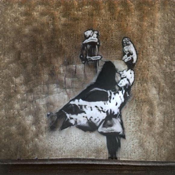 Ganksy: La inteligencia artificial que piratea las obras de Banksy