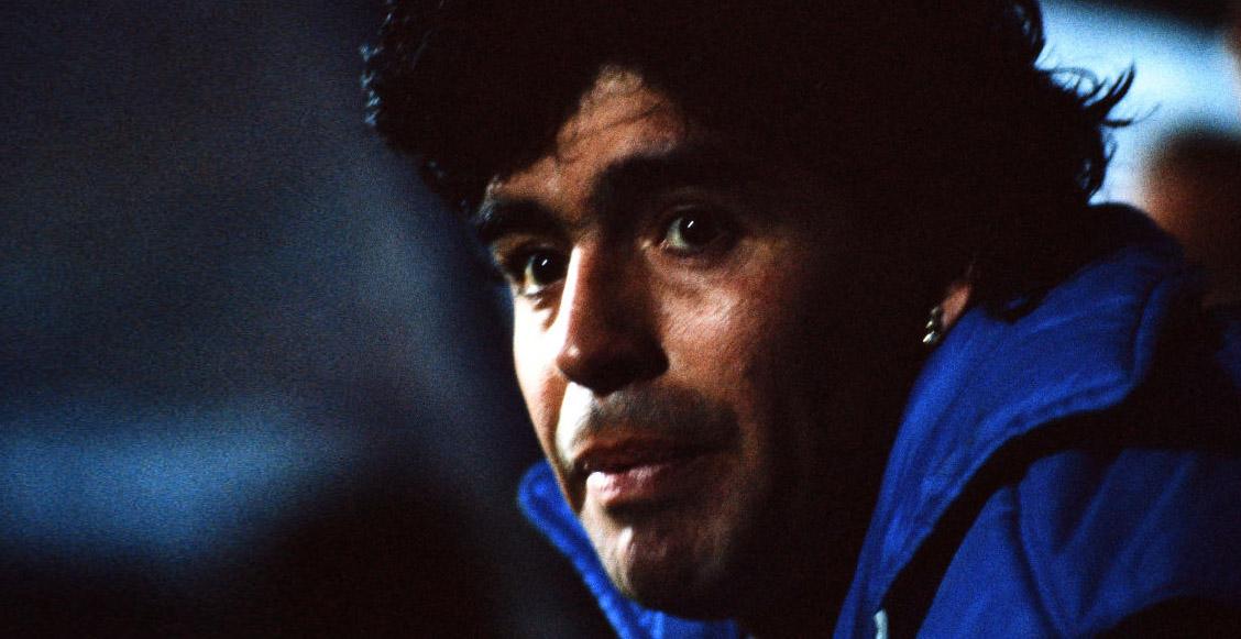 Maradona confesó que se gastó su primer sueldo en una pizza para su mamá