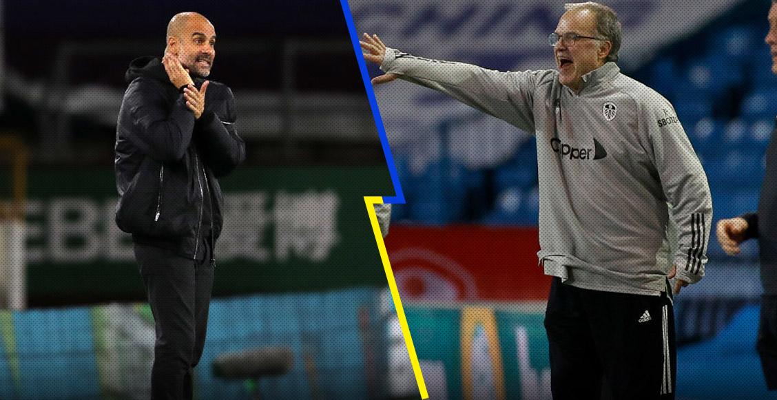 Alumno vs maestro: Así han terminado los duelos entre Pep Guardiola y el 'Loco' Bielsa