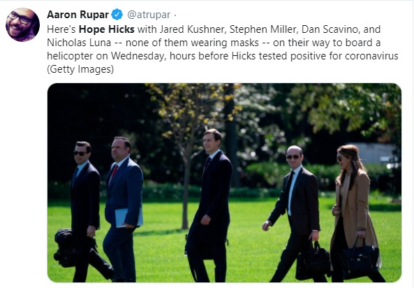 hope hicks jared kushner