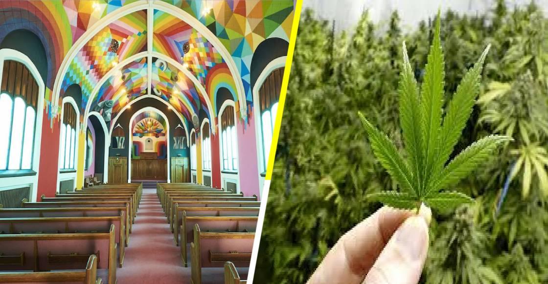 ¡Conviértete! La iglesia del cannabis sí existe y es todo un viaje conocerla