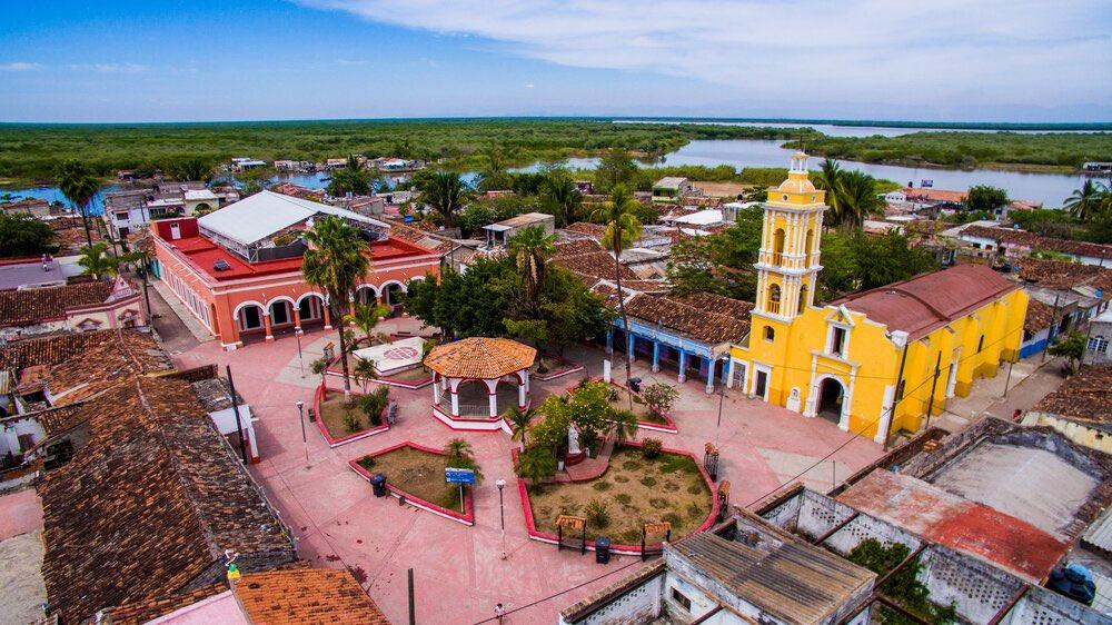 ¡Así es nuestro México! Mexcaltitán en Nayarit, vuelve a ser 'Pueblo Mágico'.