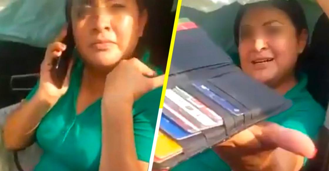 #LadyMP: Mujer provoca accidente y se resiste al arresto por trabajar en el Ministerio Público
