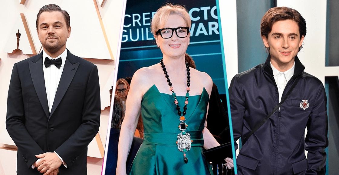 No es un sueño: Leonardo DiCaprio, Meryl Streep y Timothée Chalamet protagonizarán una película juntos