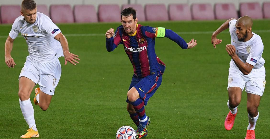 Los récords que rompieron Lionel Messi y Ansu Fati en la Champions League ante el Ferencváros