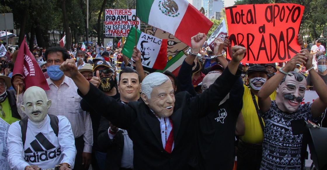 """Así se vivió la """"Marcha del millón"""" para mostrar apoyo a AMLOAsí se vivió la """"Marcha del millón"""" para mostrar apoyo a AMLO"""