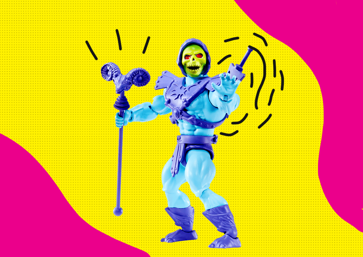 skeletor he man mattel