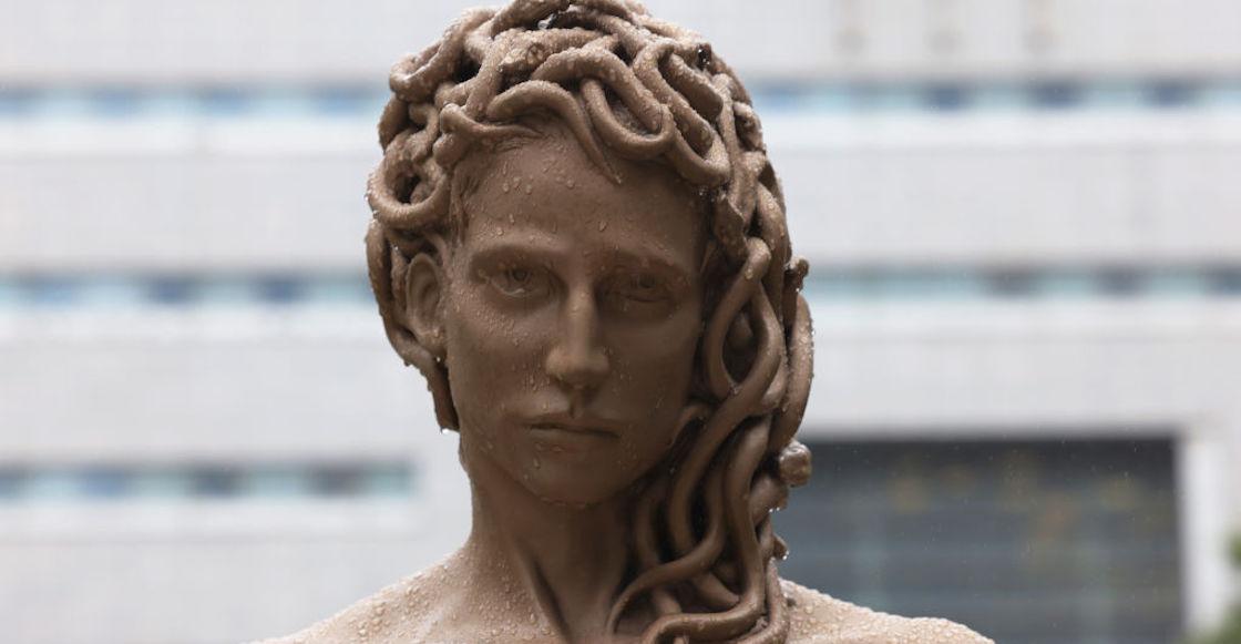 medusa-estatua