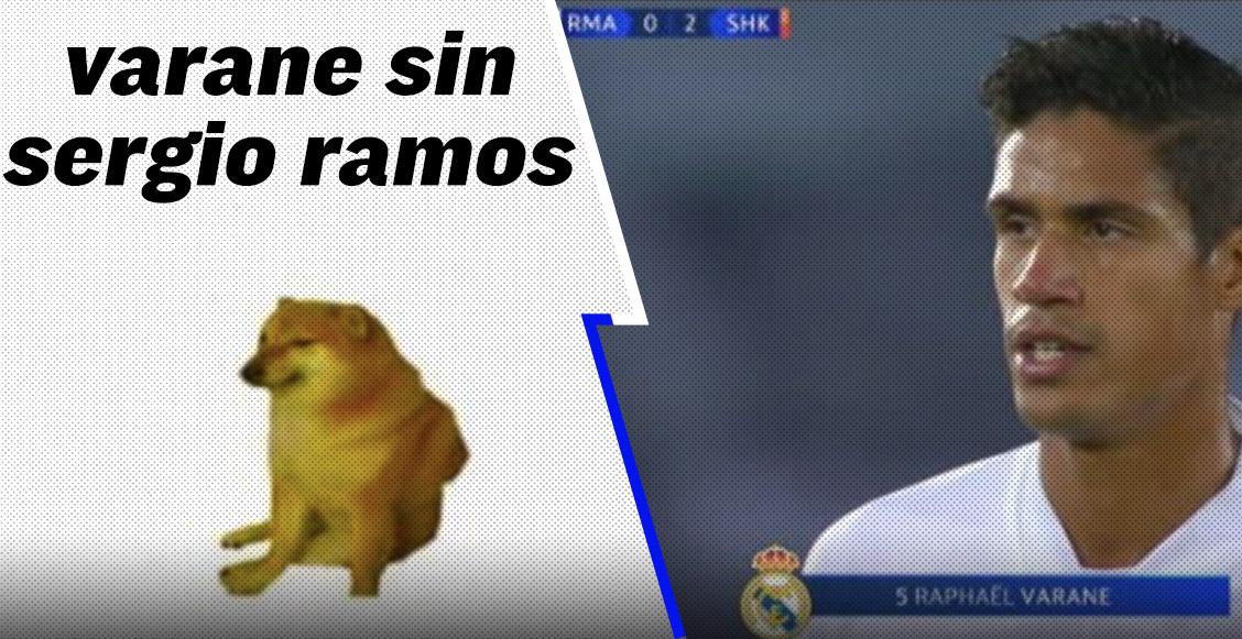 Los memes tundieron a Varane tras su autogol ante el Shakhtar en la Champions LeagueLos memes tundieron a Varane tras su autogol ante el Shakhtar en la Champions League