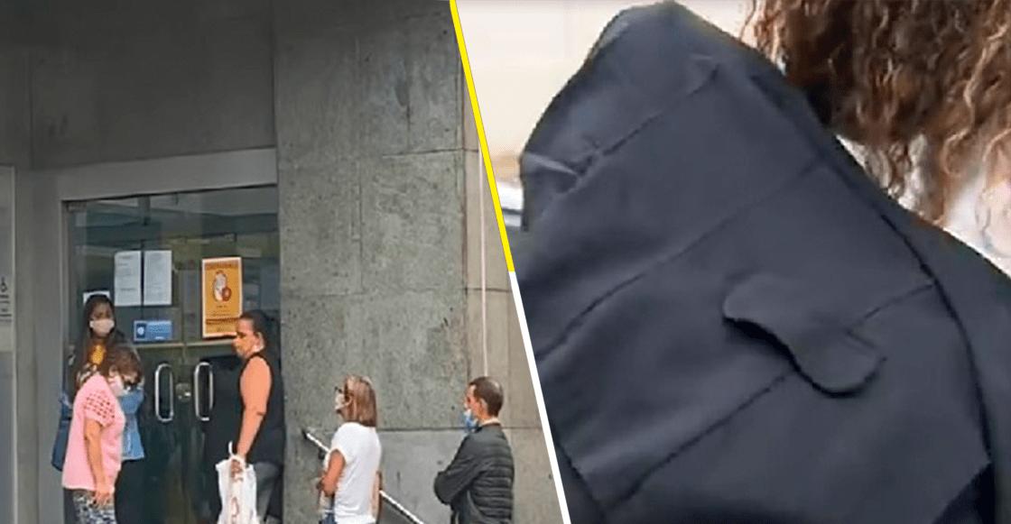 ¡WTF! Mujer lleva a su esposo sin vida a un banco para cobrar su pensión