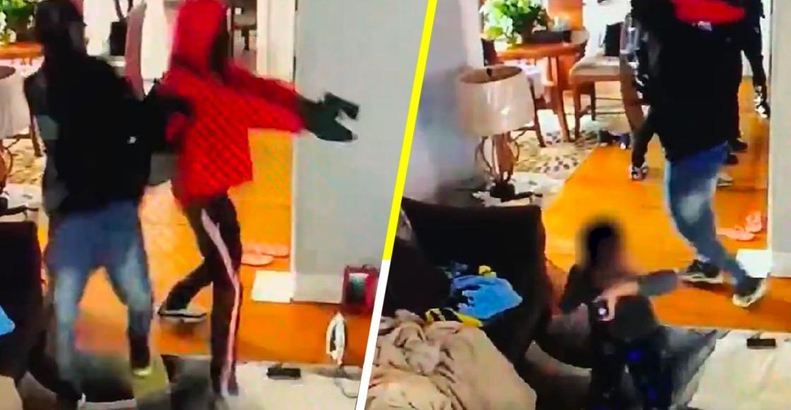 ¡Pequeño héroe! Niño enfrenta a ladrones para proteger a su mamá