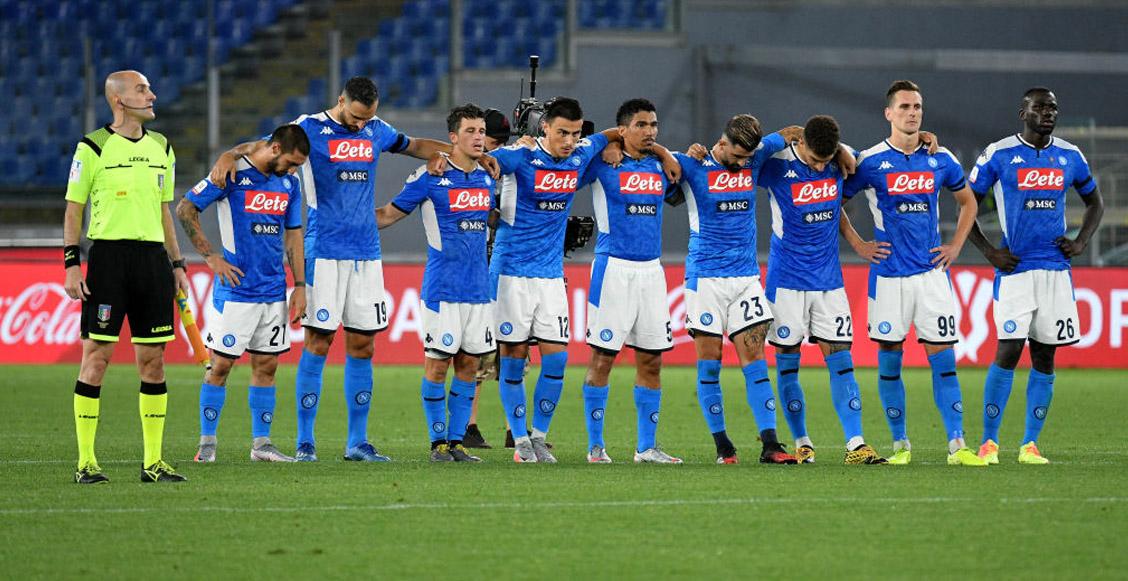 Duelo entre Juventus y Napoli no se juega