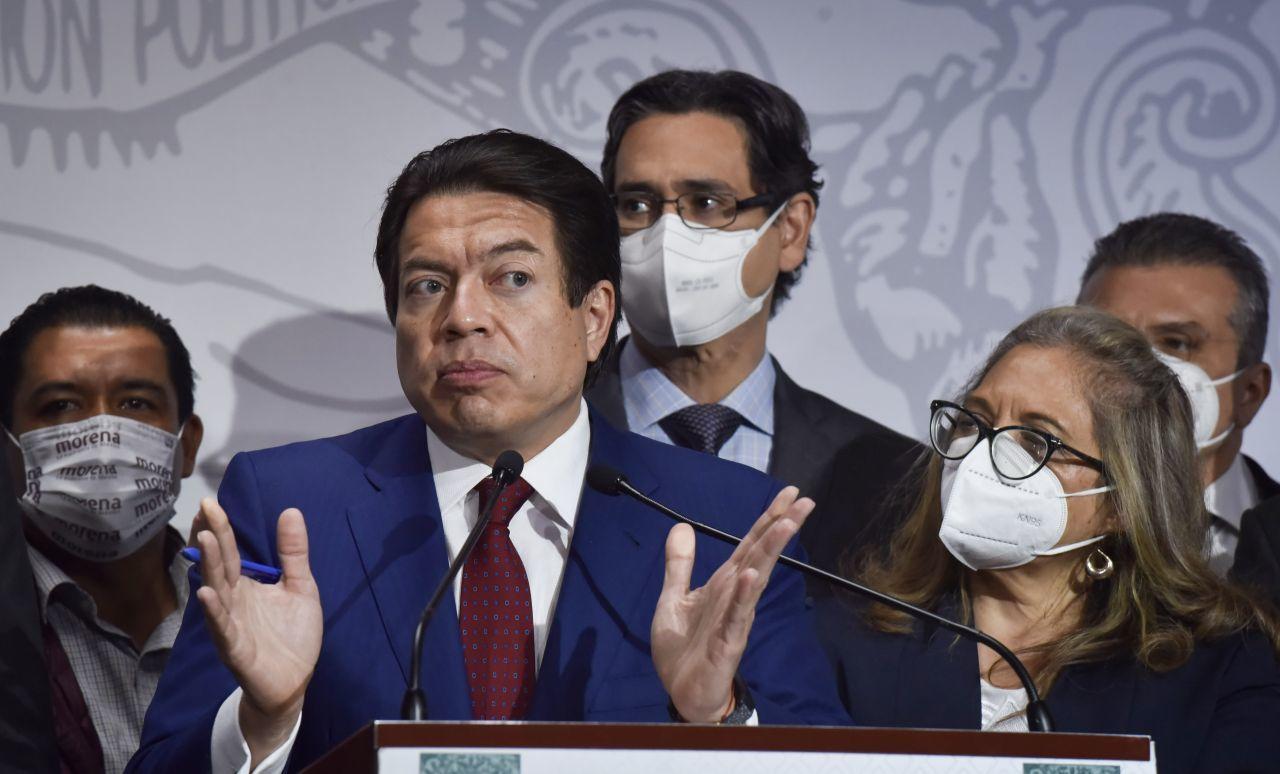 Muñoz Ledo dice que tomará la presidencia de Morena pese a empate con Mario Delgado