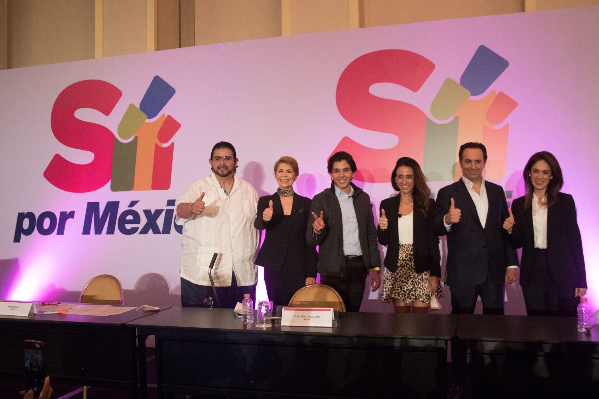 Presentación Sí por México