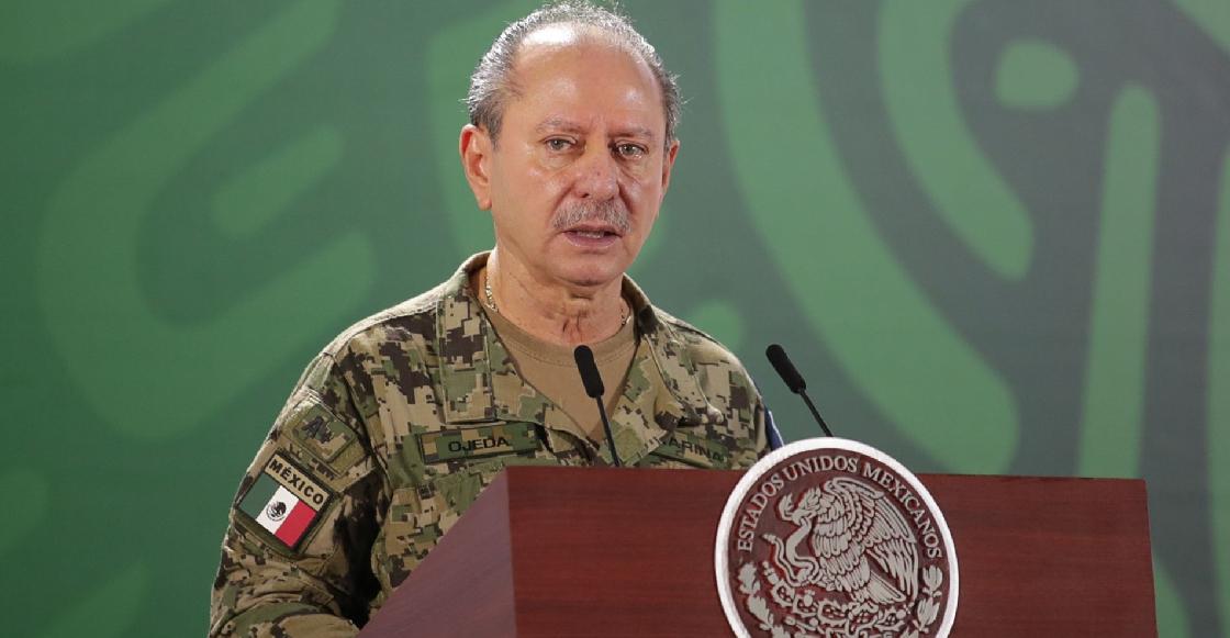 Rafael Ojeda Durán, secretario de Marina, da positivo a COVID-19
