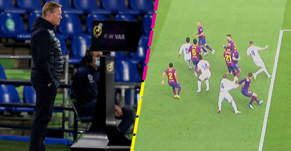 Koeman, Zidane, Ramos y hasta el Betis: Las reacciones al 'polémico' penal en contra del Barcelona