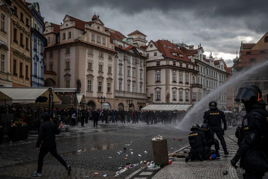 republica-checa-manifestacion-coronavirus