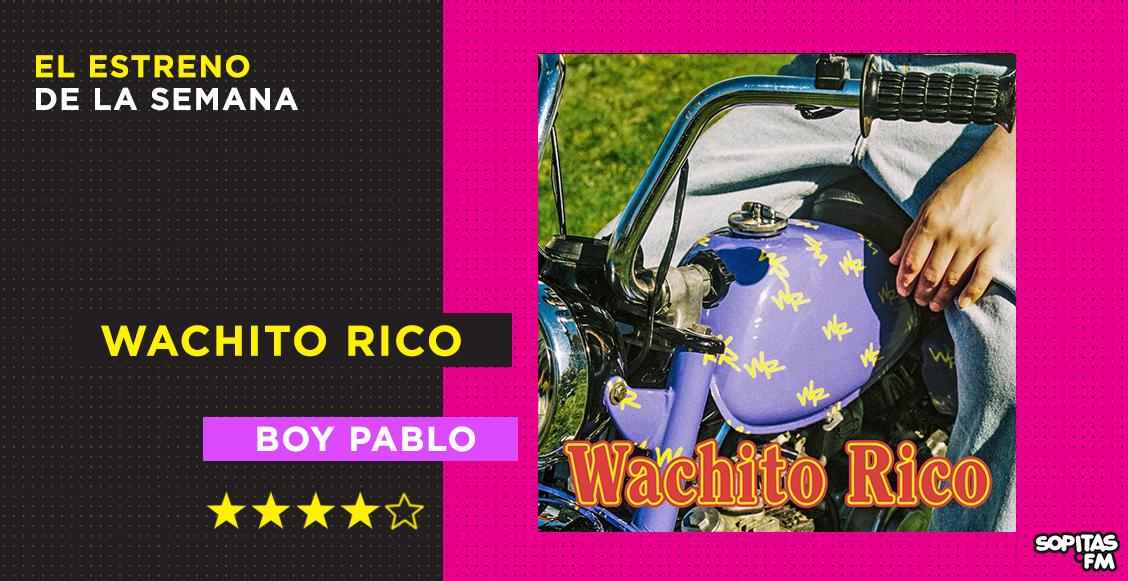 'Wachito rico': El emocionante y melancólico debut de boy pablo