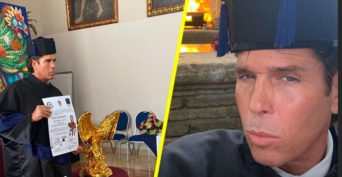Eso, papilord: Roberto Palazuelos recibe 'Doctorado Honoris Causa' por su carrera artística